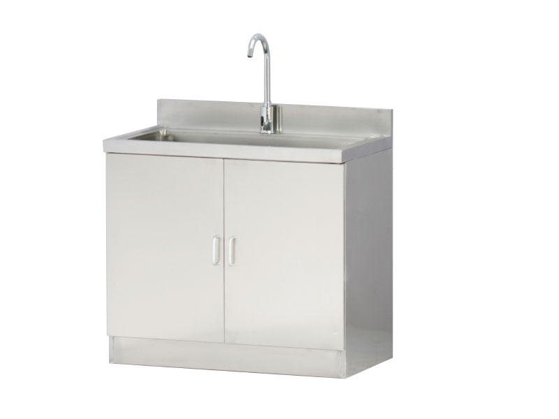 ZKQ-037 Stainless steel induction hand washing basin (two positions)